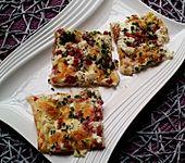 Blätterteig - Flammkuchen mit Käse (Bild)
