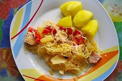 Chrissis Ananas - Sauerkrauttopf 1