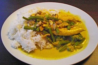 Erdnuss - Curry - Sauce mit Honig 1
