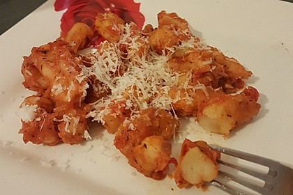 Gnocchi mit Tomatensauce 4