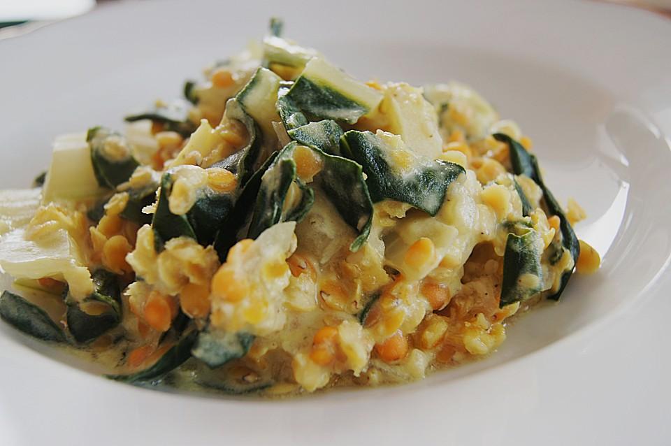Linsen Mangold Curry Von Matelli Chefkoch