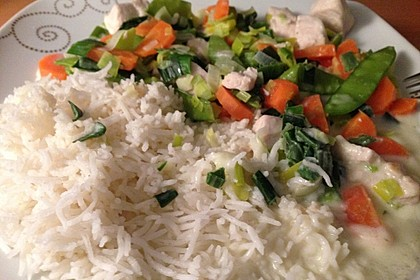 Gemüsepfanne mit Hähnchenbrustfilet 31