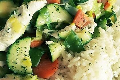 Gemüsepfanne mit Hähnchenbrustfilet 15