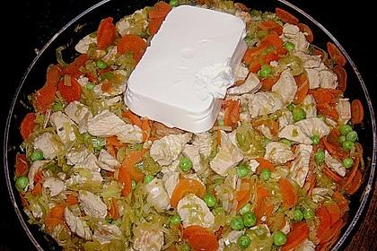 Gemüsepfanne mit Hähnchenbrustfilet 25