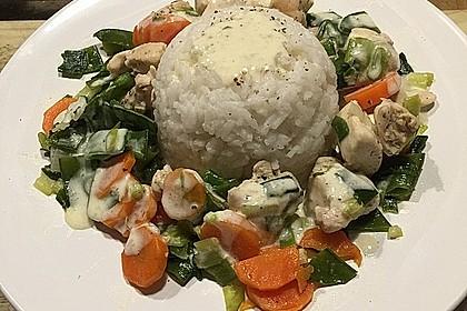 Gemüsepfanne mit Hähnchenbrustfilet 5