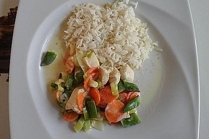Gemüsepfanne mit Hähnchenbrustfilet 30