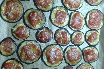 Auberginen mit Tomatensugo und Parmesan überbacken 49