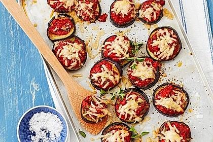 Auberginen mit Tomatensugo und Parmesan überbacken 1