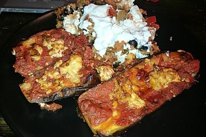 Auberginen mit Tomatensugo und Parmesan überbacken 25
