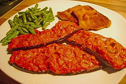 Auberginen mit Tomatensugo und Parmesan überbacken 31