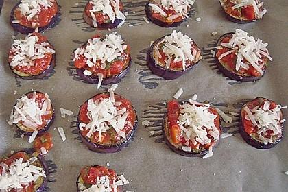 Auberginen mit Tomatensugo und Parmesan überbacken 45