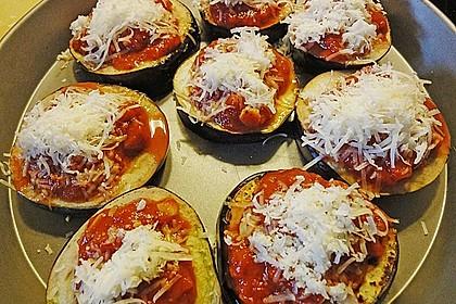 Auberginen mit Tomatensugo und Parmesan überbacken 47