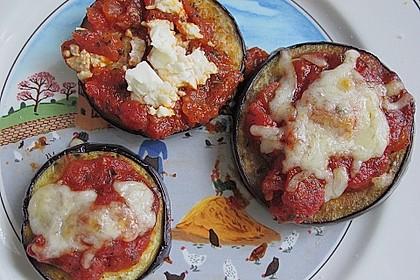 Auberginen mit Tomatensugo und Parmesan überbacken 16