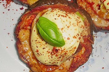 Auberginen mit Tomatensugo und Parmesan überbacken 17