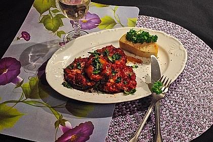 Auberginen mit Tomatensugo und Parmesan überbacken 28