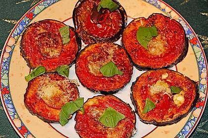 Auberginen mit Tomatensugo und Parmesan überbacken 6