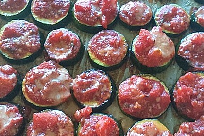 Auberginen mit Tomatensugo und Parmesan überbacken 38