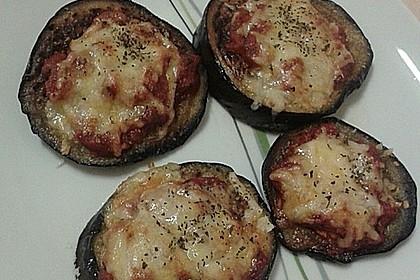 Auberginen mit Tomatensugo und Parmesan überbacken 46