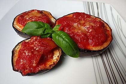 Auberginen mit Tomatensugo und Parmesan überbacken 2