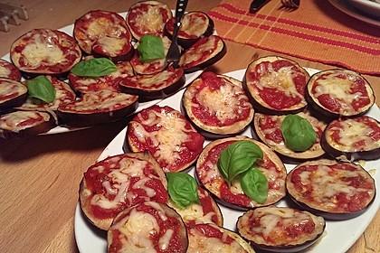 Auberginen mit Tomatensugo und Parmesan überbacken 21