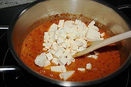 Spaghetti mit Tomatensoße 6