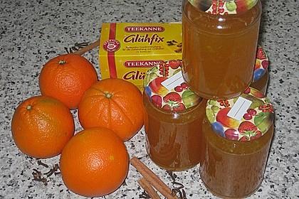 Weihnachtliches Orangengelee 6