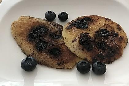 Blaubeer - Pfannkuchen 5