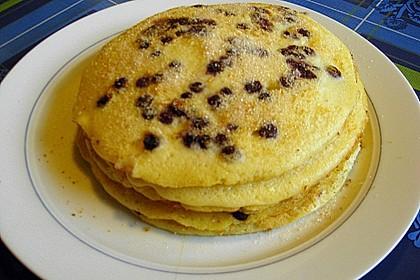 Blaubeer - Pfannkuchen 4