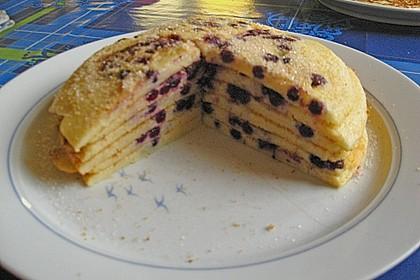 Blaubeer - Pfannkuchen 2