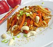 Vegetarische Asia - Bratnudeln (Bild)