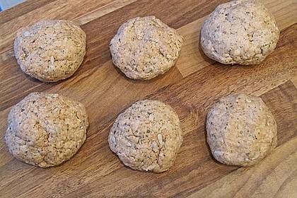 Kräuter - Frischkäse - Brötchen 5
