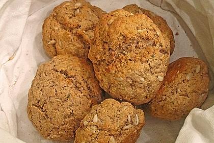 Kräuter - Frischkäse - Brötchen 1