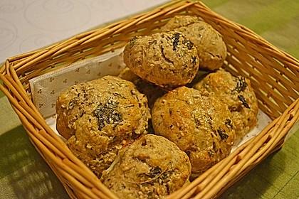 Kräuter - Frischkäse - Brötchen