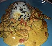 Curry - Paprika - Putenbrust (Bild)