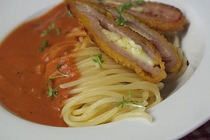 Spaghetti mit Tomatensoße 1