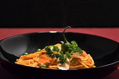 Spaghetti mit Tomatensoße 4