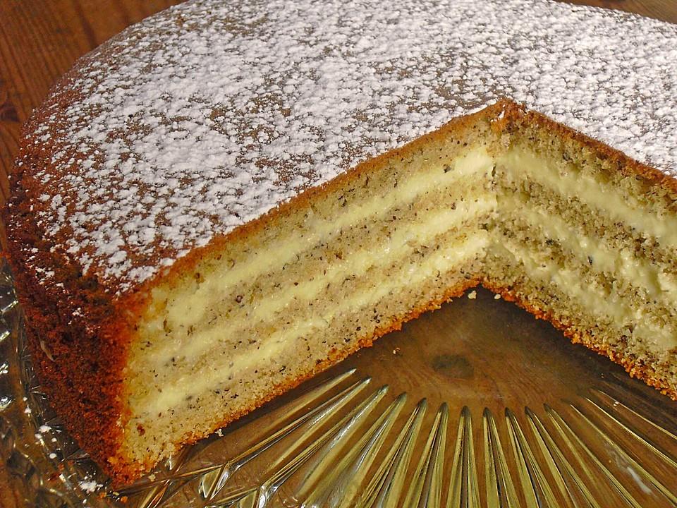 Nuss Vanille Torte Von Chaclara Chefkoch De