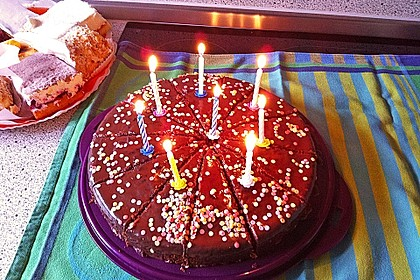 Schoko - Nuss - Kuchen (Bild)
