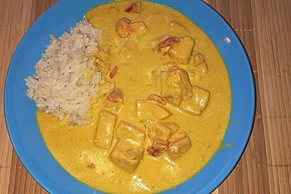 Indisches Fisch - Kokos - Curry 5