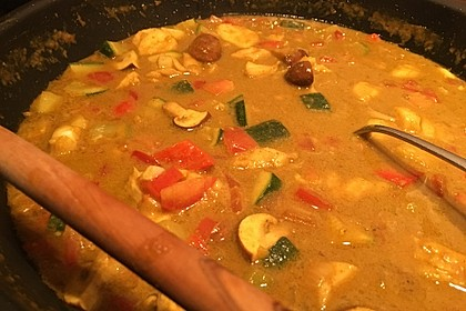 Indisches Fisch - Kokos - Curry 7