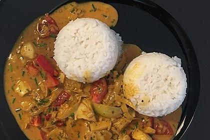 Indisches Fisch - Kokos - Curry 4