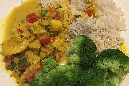 Indisches Fisch - Kokos - Curry 8