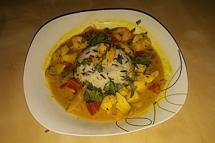 Indisches Fisch - Kokos - Curry 2