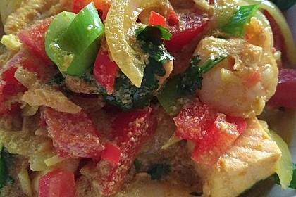 Indisches Fisch - Kokos - Curry 6