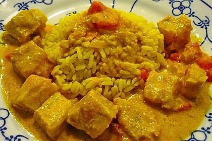 Indisches Fisch - Kokos - Curry 9