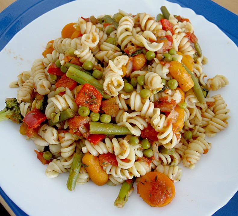Italienische Gemüse Nudeln Von Exuna Chefkochde