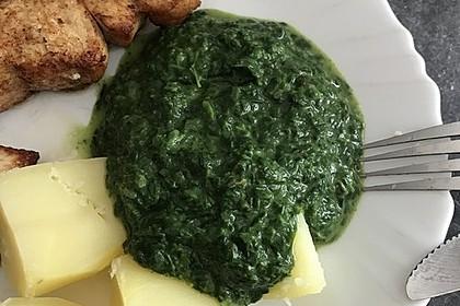 Spinat, Spiegelei und Salzkartoffeln 42