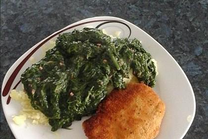 Spinat, Spiegelei und Salzkartoffeln 30