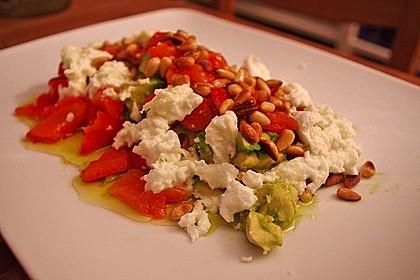 Tomaten - Avocado - Salat (Bild)