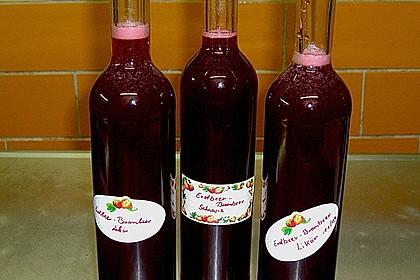 Erdbeer - Brombeerlikör